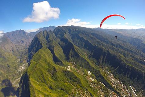 Voyage Parapente à la Réunion